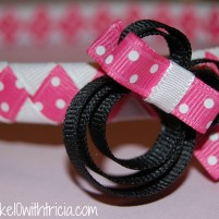 Minnie Mouse Clippie Tutorial