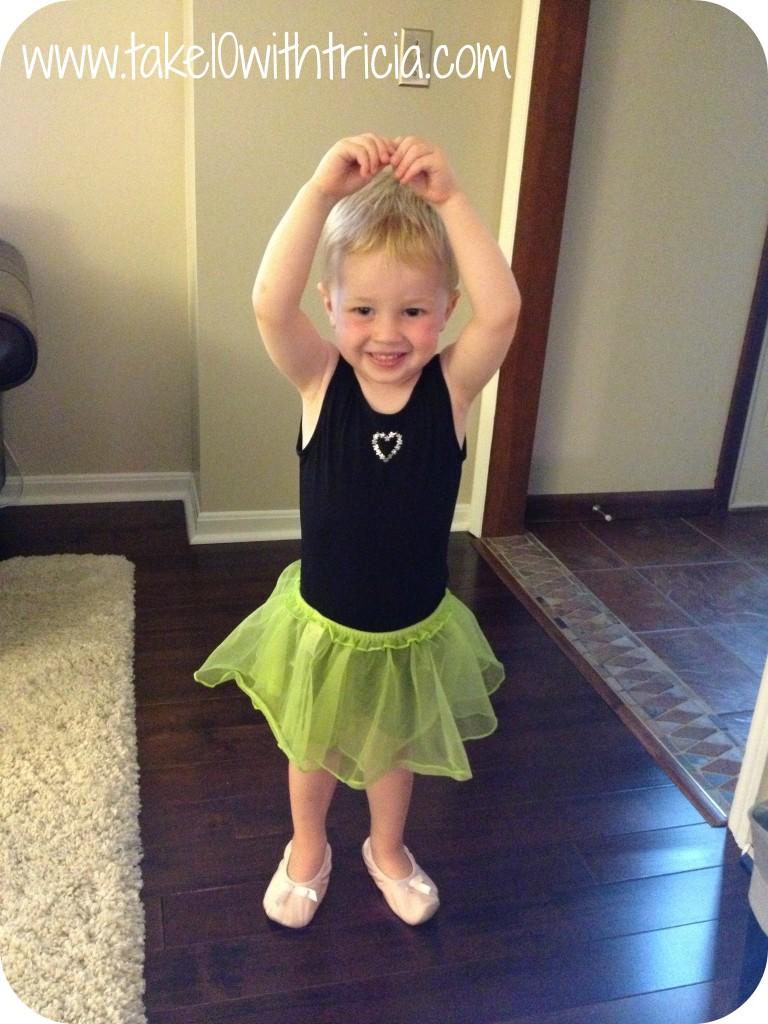 Henry-as-ballerina