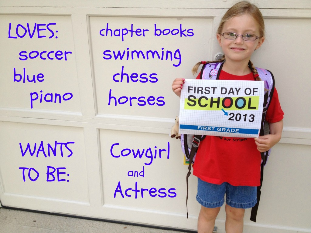 Stella-first-day-1st-grade