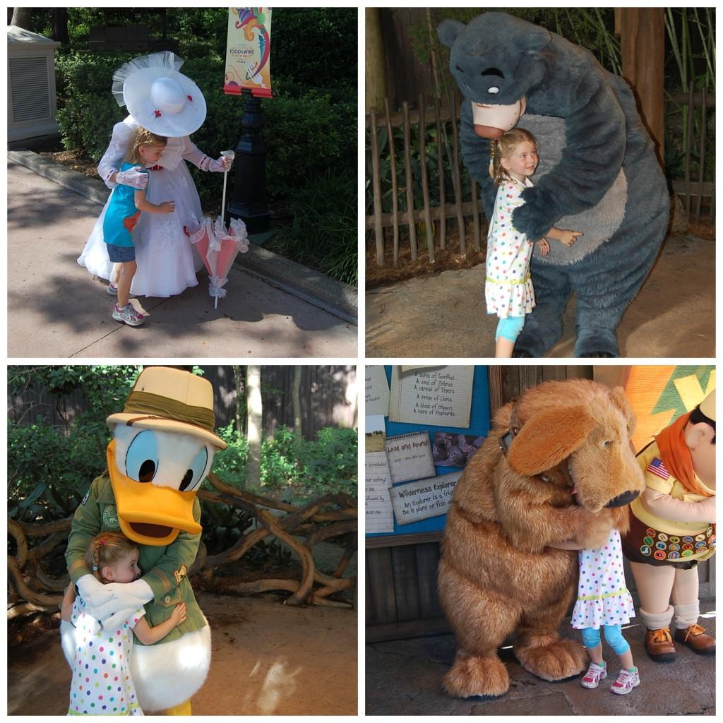 Charlotte-Hugging-Disney-Characters