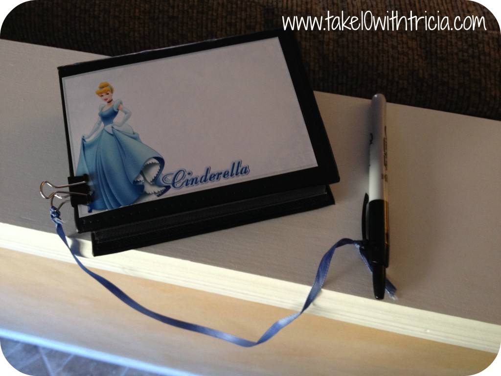 Disney-autograph-book-DIY