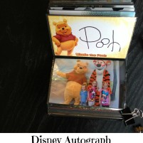 Disney Autograph Book with Photos DIY