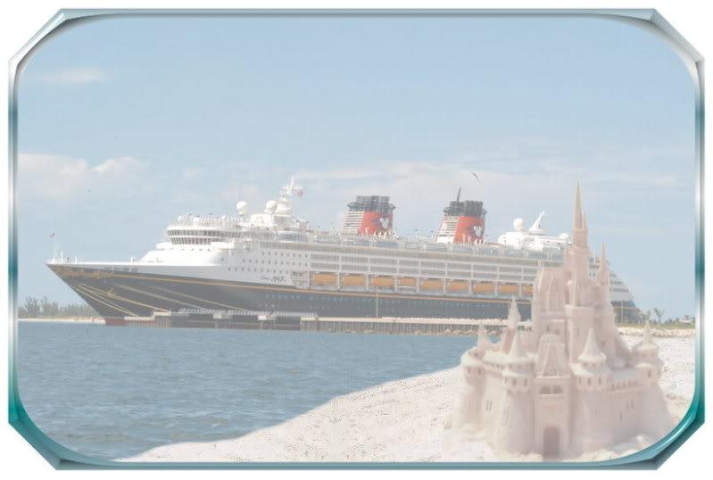 DisneyCruiseShipwithCastle1