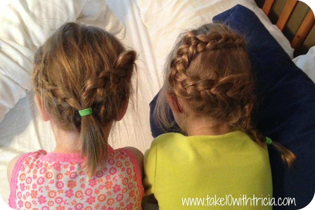 Girls-hair-braided