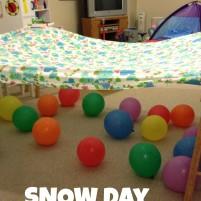 Snow Day Indoor Activities