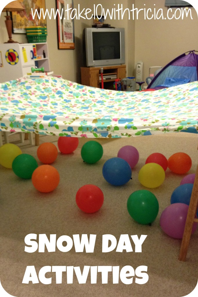 Snow-day-fort