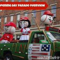 Reds Opening Day Parade Overview