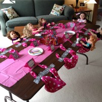 Baby Doll Themed Birthday Party
