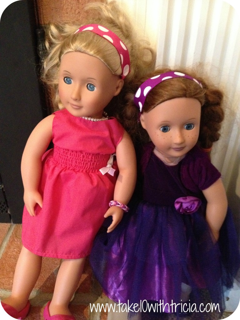 Baby-doll-theme-birthday-party-favor-doll-headbands