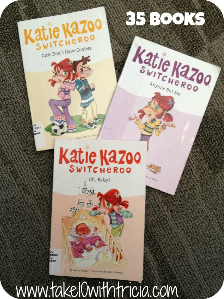 Katie-Kazoo-Switcheroo-books
