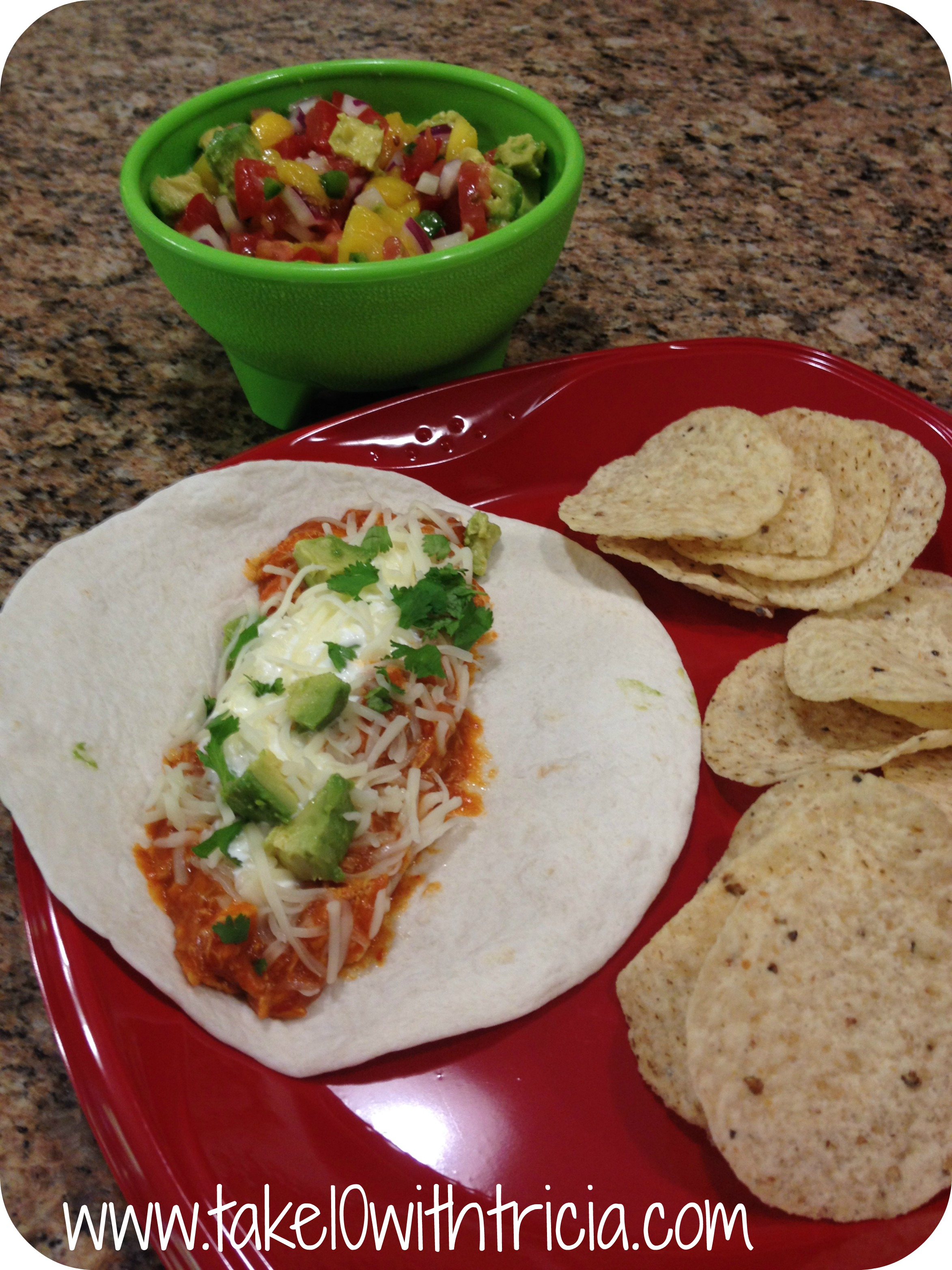 Kroger-taste-of-mexico-shredded-chicken-taco