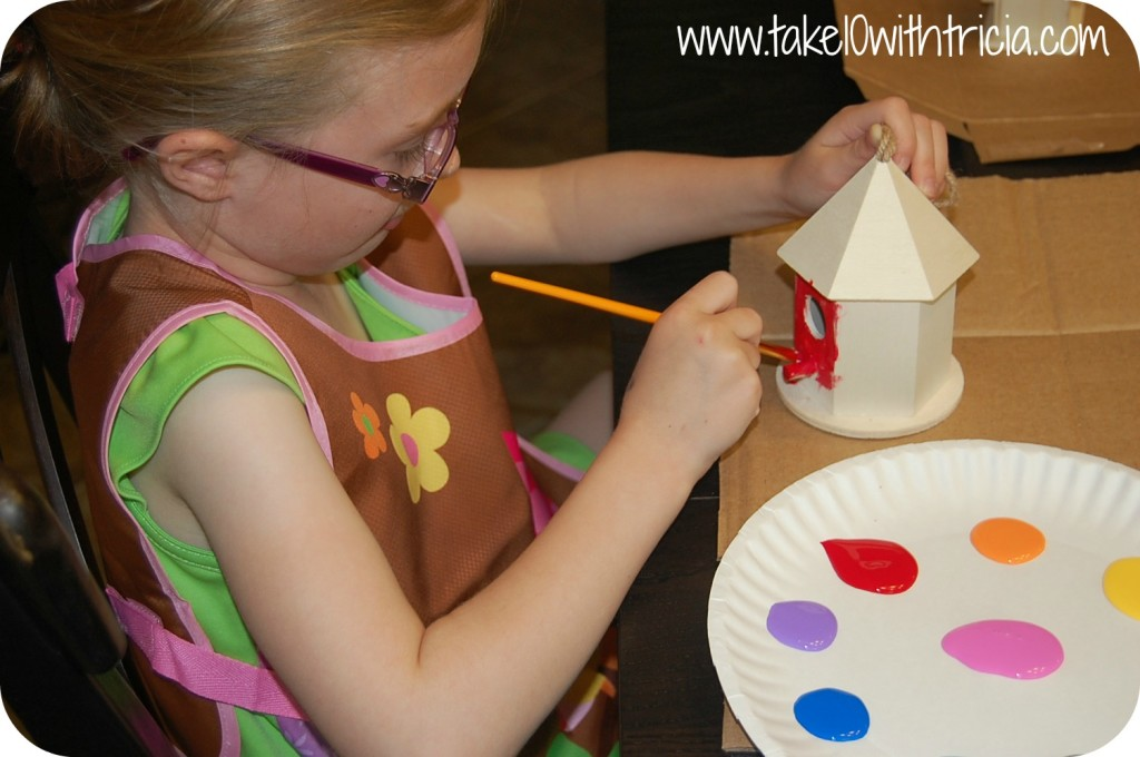 Stella-painting-fairy-garden-house