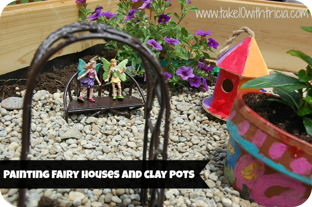 painting-fairy-garden-houses