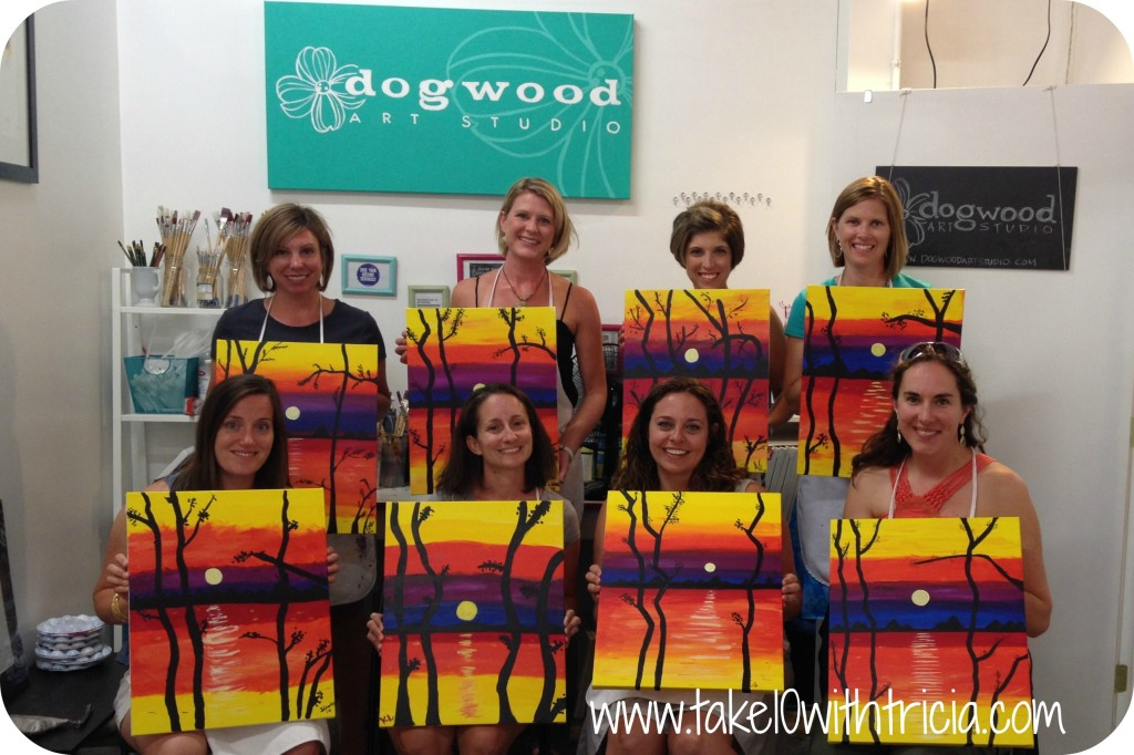 dogwood-art-studio-girls-night-out-finished-paintings