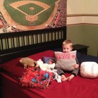 Henry's Baseball Room