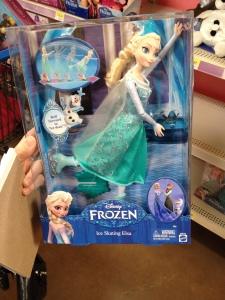 Elsa-skating-doll