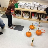 Pumpkin Ring Toss – Harvest Party Game