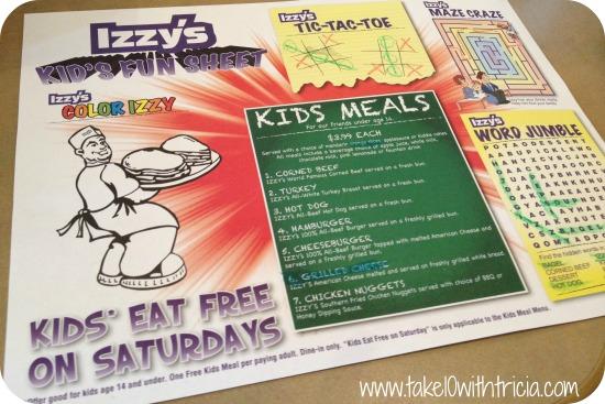 izzys-kids-meal-menu
