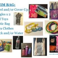 Swim Bag Checklist for Kids