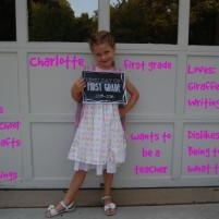 Charlotte – Hello First Grade!