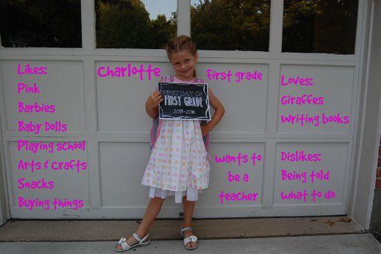 Charlotte-first-grade