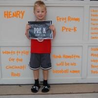 Henry Returns to Pre-K Frog Room