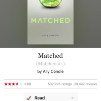 Books: Matched and The Selection