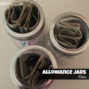 Allowance Jars – Give, Save, Spend