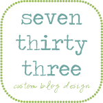 Seven Thirty Three Custom Blog Designs