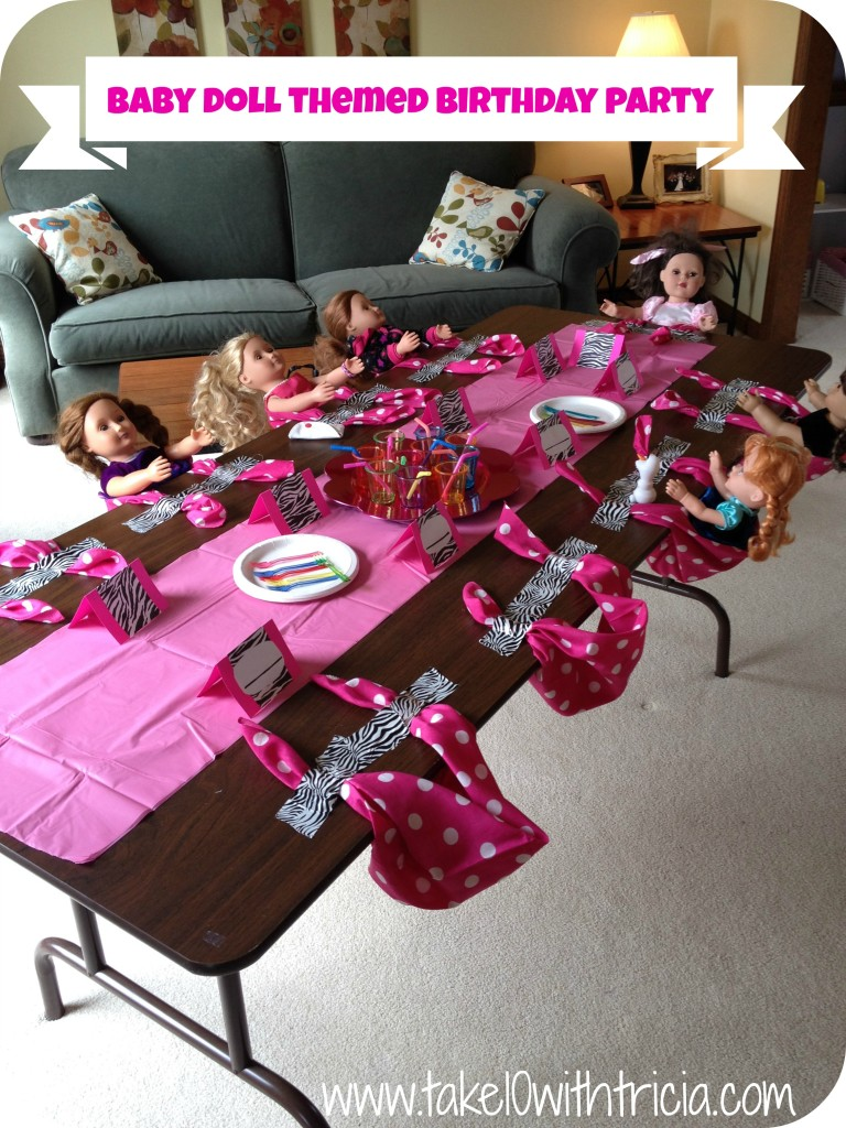 Last month the girls were invited to the cutest birthday party . I ...