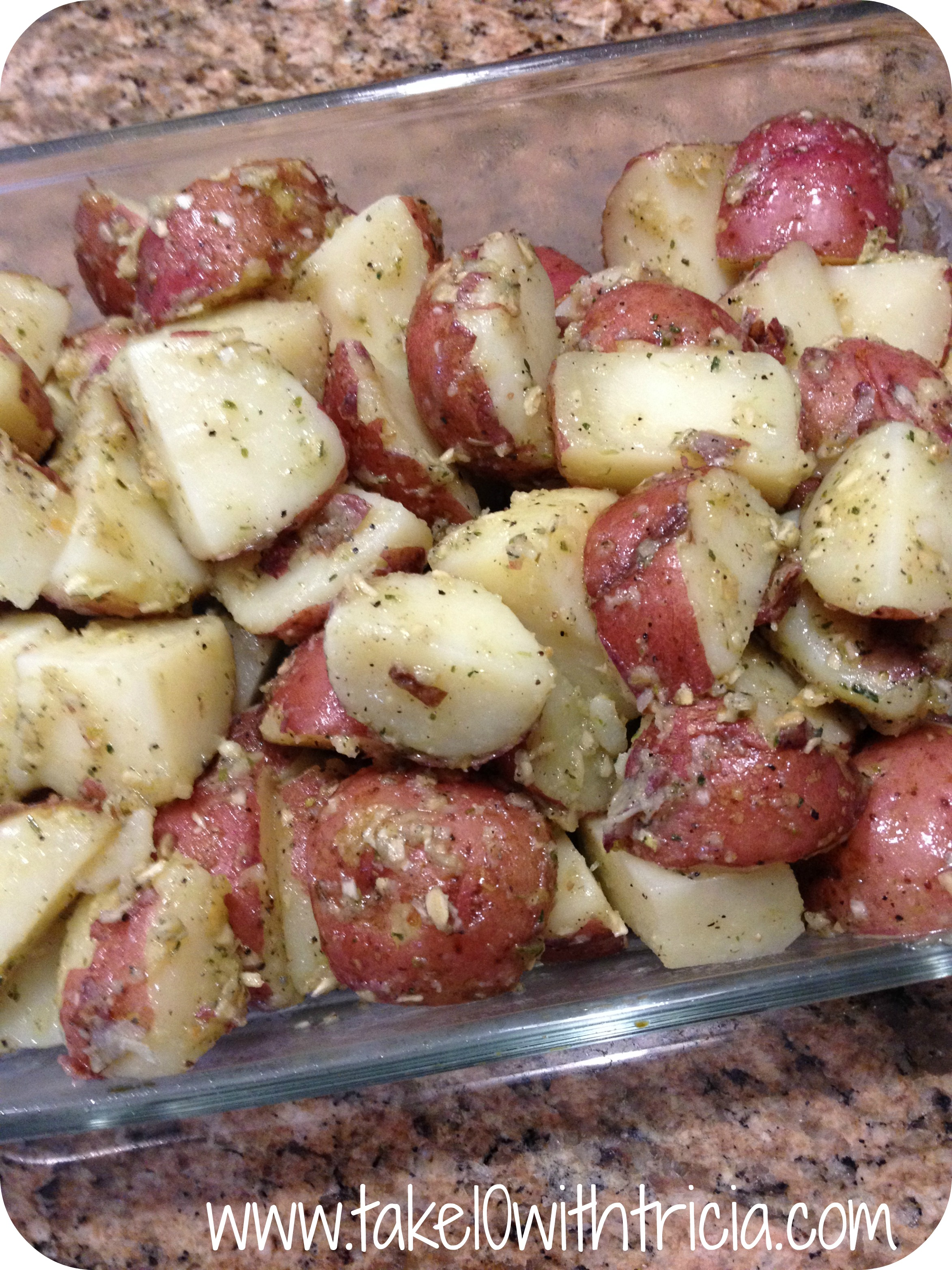 save print oven roasted red potatoes ingredients red potatoes i used ...