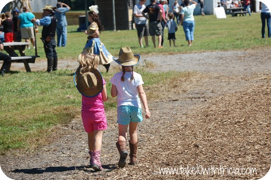 The Old West Festival is an annual family event that is currently in its 11th season and welcomes approximately 20, visitors each year to our 65+ acres of Festival grounds. The Festival is open 6 weekends, and provides families the opportunity to take a trip back in time and enjoy trick roping 4/5.