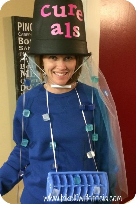 ice bucket challenge costume 2