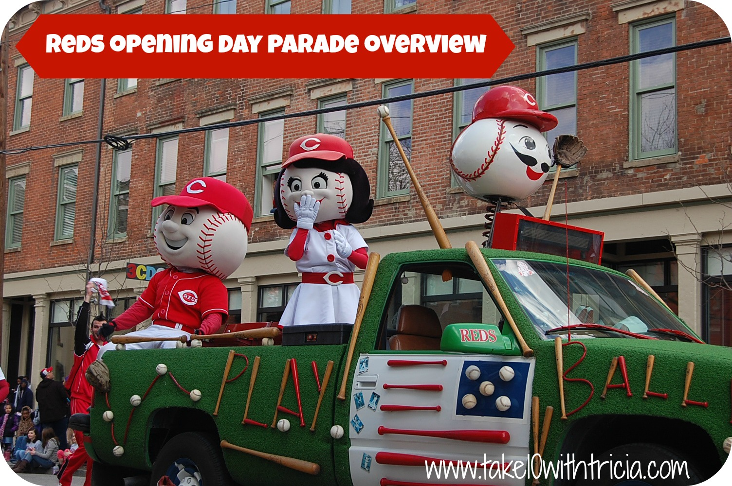 Red Opening Day Parade 2015 The 2015 Reds Opening Day
