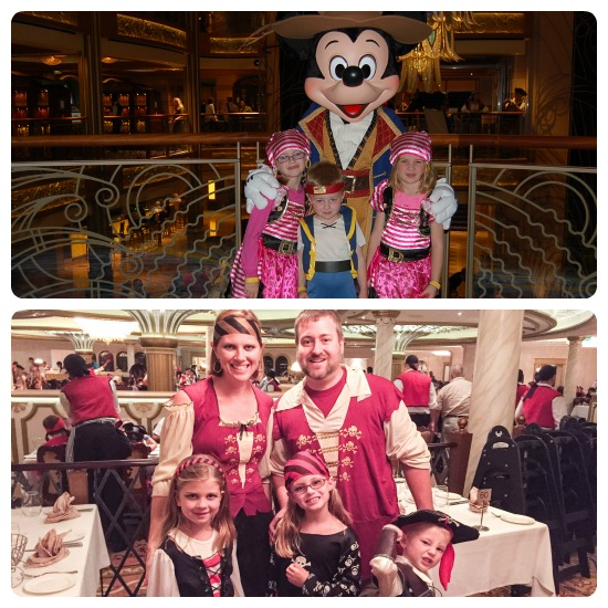 Disney Cruise Attire What We Wore Take With Tricia - What to wear on a cruise ship dinner