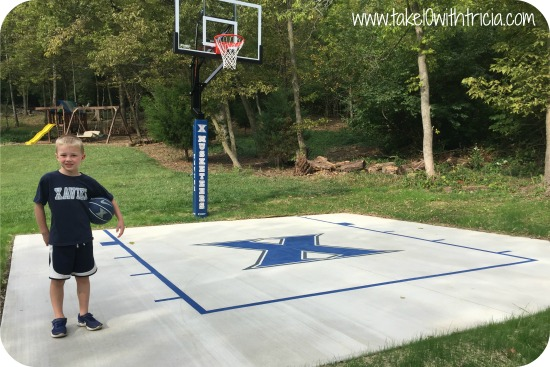 ... and soccer are favorites. Most of you know he even has a sports  nickname, Hank. So it was no surprise that Hank wanted a bigger basketball  hoop. - Backyard Basketball Addition Take 10 With Tricia